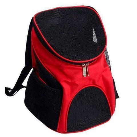 Image of All For Hobbies Red / One Size Pet Travel Backpack