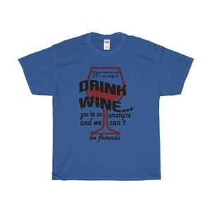 All For Hobbies Royal / S Never Too Early For Wine Tee