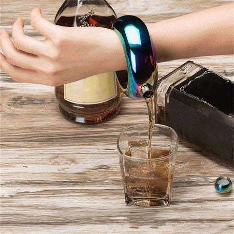 All For Hobbies Flask Bracelet
