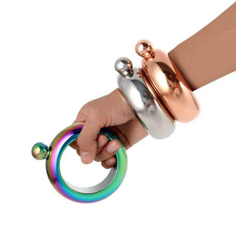 Image of All For Hobbies Flask Bracelet