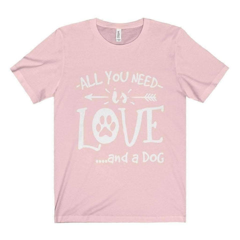 Image of All For Hobbies Soft Pink / XS All You Need Is Love Tee