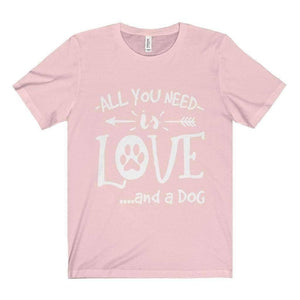All For Hobbies Soft Pink / XS All You Need Is Love Tee