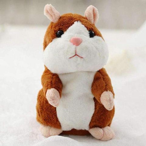 All For Hobbies Light Brown Snuggles The Talking Hamster Toy