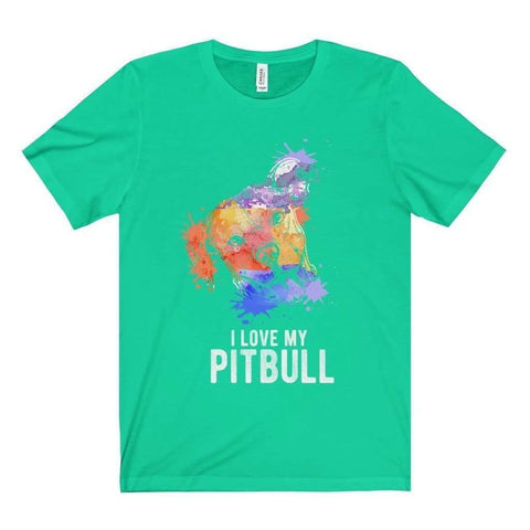 I Love My Ptbull Tee