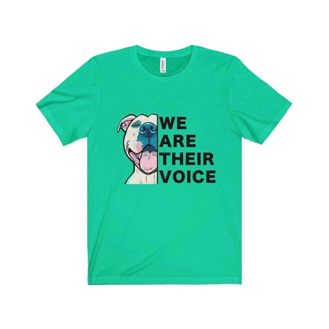 Image of All For Hobbies Teal / XS We Are Their Voice Tee