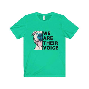 All For Hobbies Teal / XS We Are Their Voice Tee