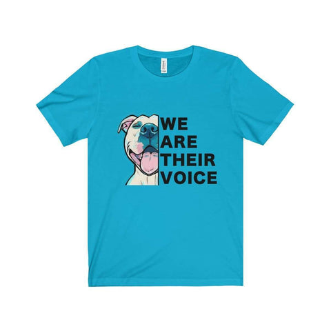 Image of All For Hobbies Turquoise / XS We Are Their Voice Tee