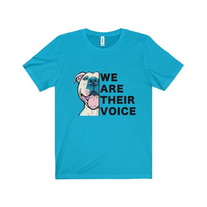 All For Hobbies Turquoise / XS We Are Their Voice Tee