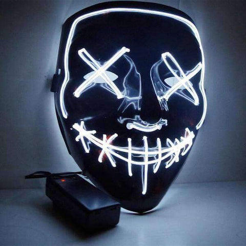 All For Hobbies White LED Purge Mask