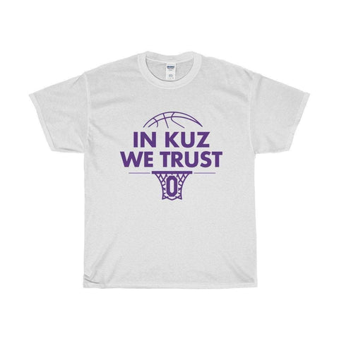 Image of All For Hobbies White / S In Kuz We Trust Tee