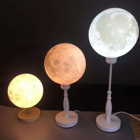 All For Hobbies Moon Lamp