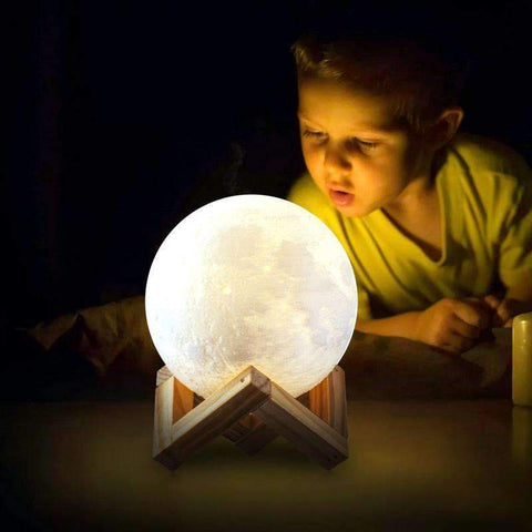 Image of luna moon lamp