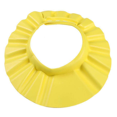 Image of yellow shower visor