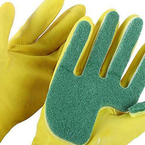 All For Hobbies Yellow Sponge Gloves