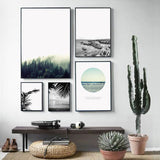 Wild Winds Landscape Canvas Prints