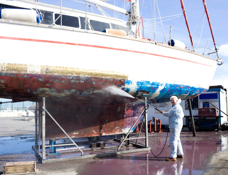 How to prepare and apply Antifoul to your vessel