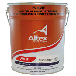 Altex No.5 Antifoul - Fibreglass and Wooden Boats