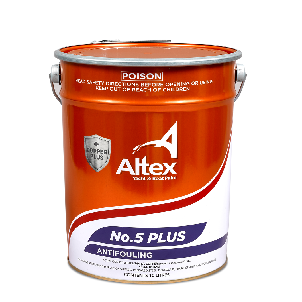 Altex No.5 PLUS Antifoul - Fibreglass and Wooden Boats