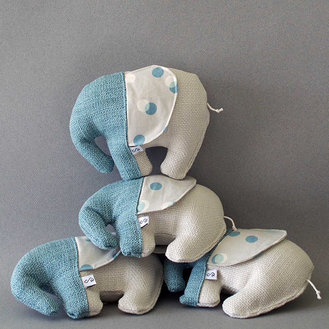 Elephant Squeaky Dog Toy - The Loxa
