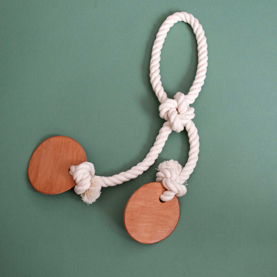 knotted cotton rope tug toy | Sweet Beest