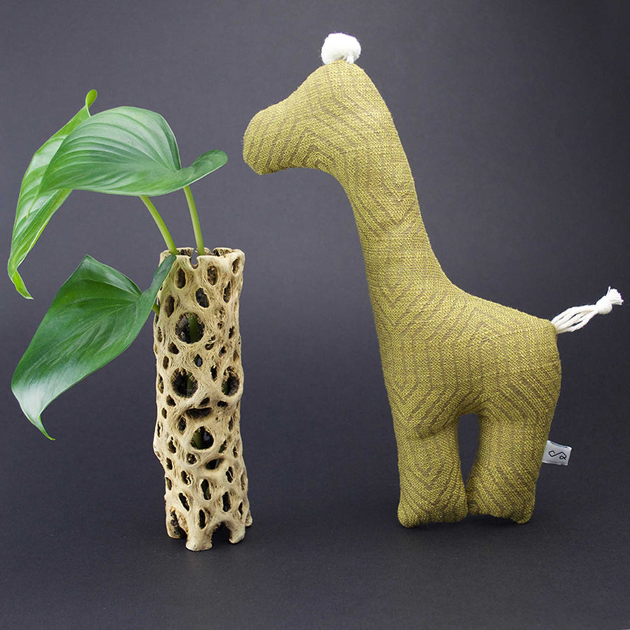 Giraffe Squeaky Dog Toy - The Savannah