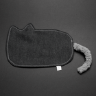 Flat Cat Crinkle Dog Toy - The Sooty