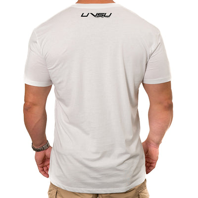 MEN'S EVERYDAY TEE - WHITE (BLACK)