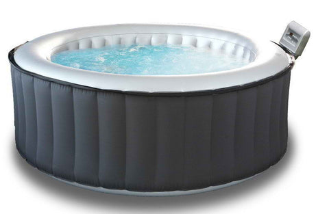 "MSpa Lite Silver Cloud Bubble Spa  (4 person 71"" x 28"")"