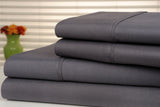 Bamboo Luxury 1800 Count 4-piece Solid Sheet Set - 8 Colors