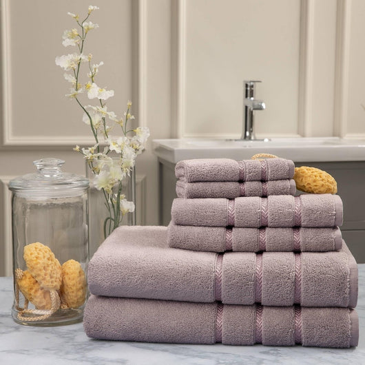 Pure Elegance 6-Piece Luxury Towel Set