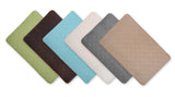 2 Pack Venus Spa Ultra Soft Microfiber Memory Foam Solid Bath Mats - 6 Colors