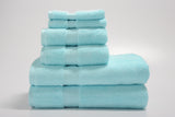 Revival 6-Piece Zero Twist 100% Cotton Towel Set