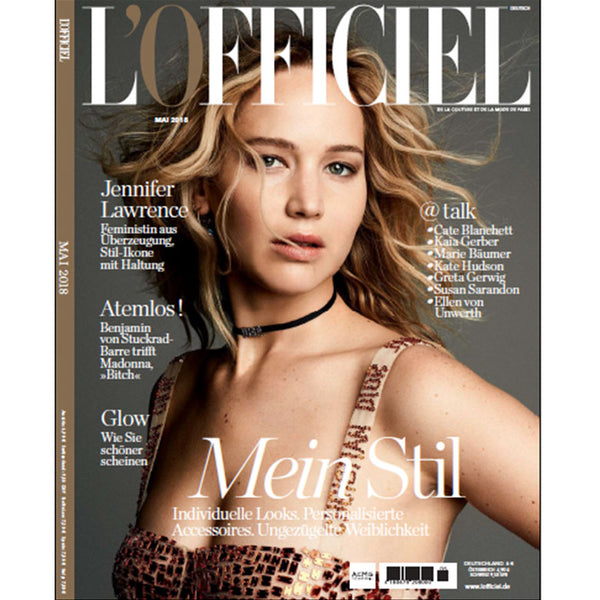 MOY ATELIER featured in L'OFFICIEL GERMANY