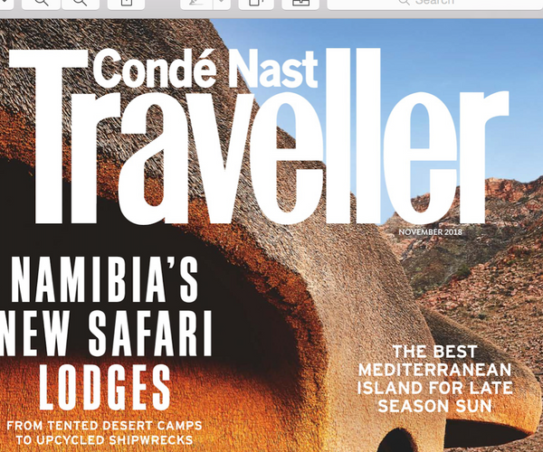 CONDÉ NAST TRAVELLER featured APRIL NYMPH: MOTHER OF SONS