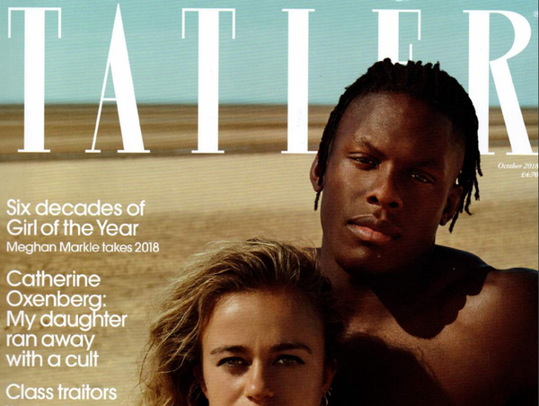 LITTLE RIPPLE: BLOOD OF OTHERS featured in TATLER