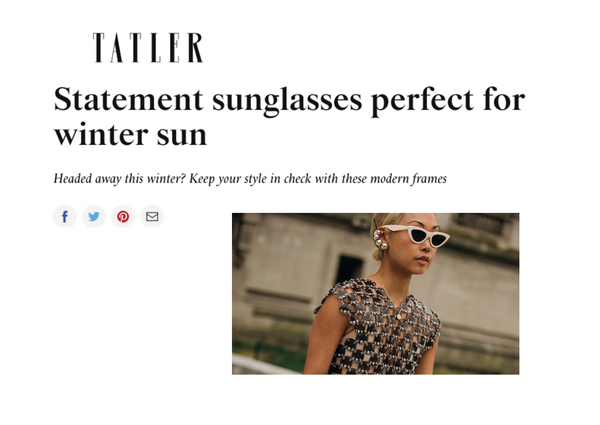 TATLER selects Little Ripple as the model perfect for the winter sun