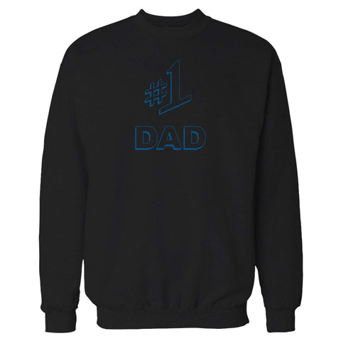 #1 Dad Gift Number One Best Ever Seinfeld Super Father's Day  Sweatshirt
