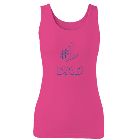 #1 Dad Gift Number One Best Ever Seinfeld Super Father's Day  Woman's Tank Top