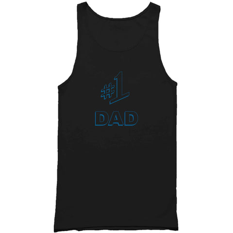 #1 Dad Gift Number One Best Ever Seinfeld Super Father's Day  Man's Tank Top