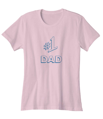 #1 Dad Gift Number One Best Ever Seinfeld Super Father's Day  Woman's T-Shirt