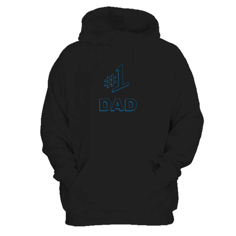 #1 Dad Gift Number One Best Ever Seinfeld Super Father's Day  Man's Hoodie