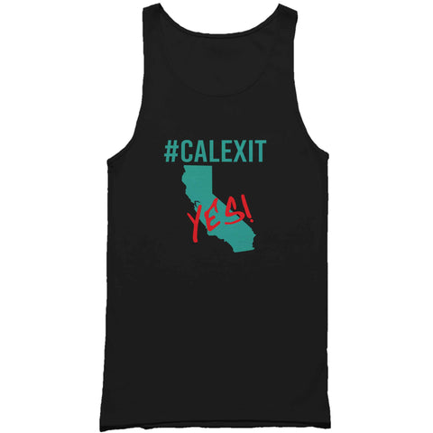 #calexit Yes! California Secede Man's Tank Top