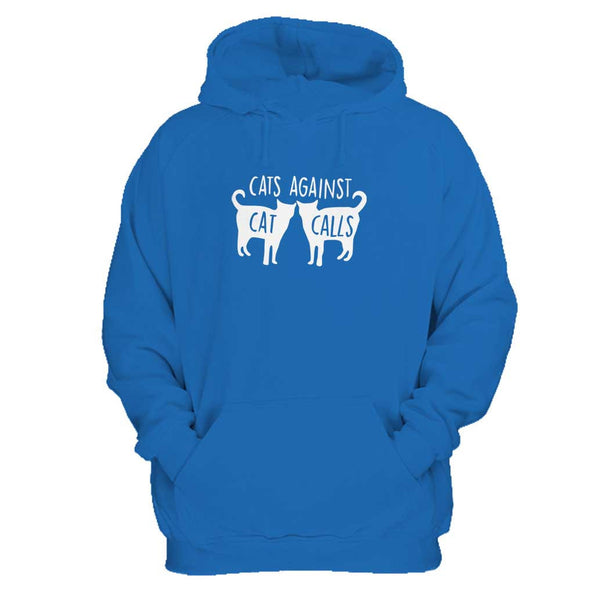 Cats Against Cat Calls Activist Man's Hoodie