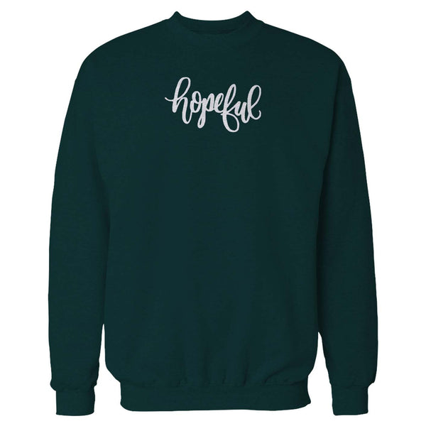 Hopeful Positive Inspirational Hopeful Breast Cancer Awareness Sweatshirt