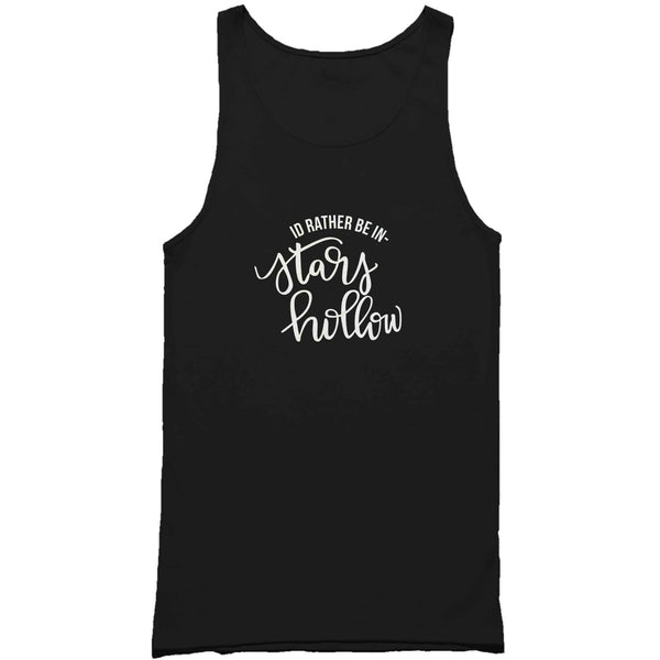 I'd Rather Be In Stars Hollow Gilmore Man's Tank Top