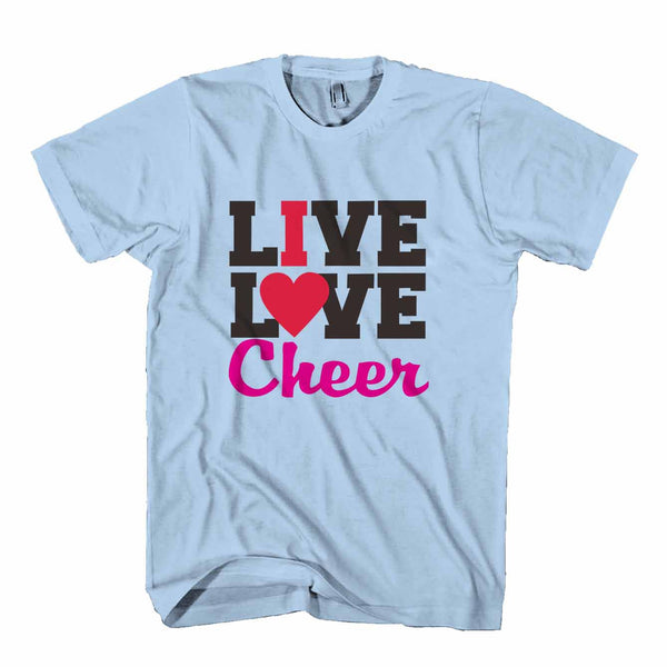 Live Love Cheer Man's T-Shirt