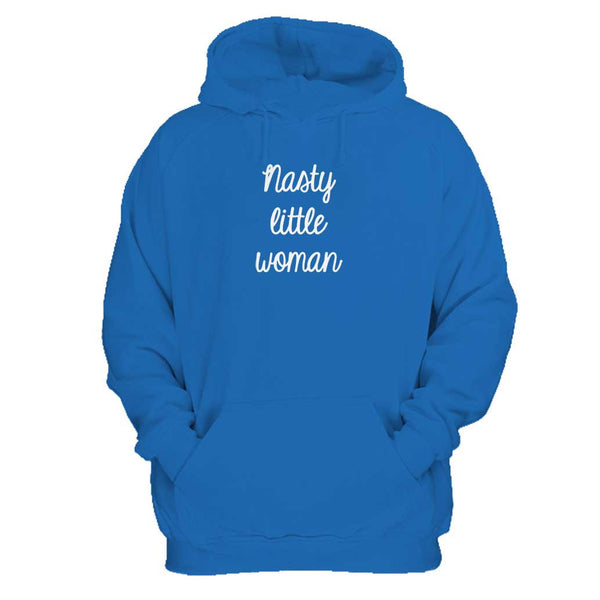 Nasty Little Woman Presidential Election 2016 Nasty Woman Hillary Clinton Choose Love Trump Man's Hoodie