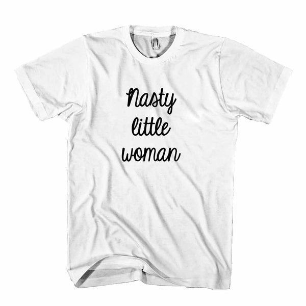 Nasty Little Woman Presidential Election 2016 Nasty Woman Hillary Clinton Choose Love Trump Man's T-Shirt
