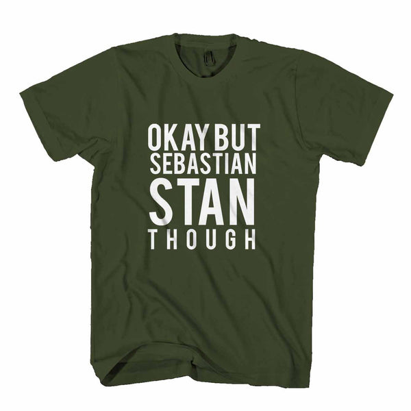 Ok But Sebastian Stan Though Man's T-Shirt