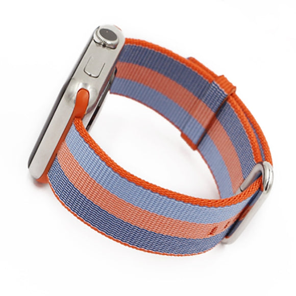 The Stripe woven Nylon fabric Band